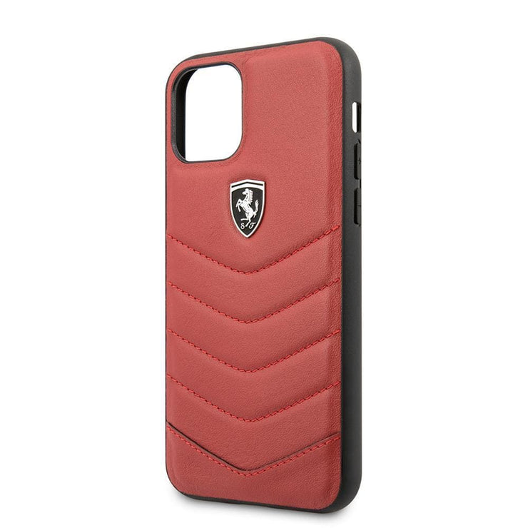 Ferrari Off Tracked Quilted Real Leather