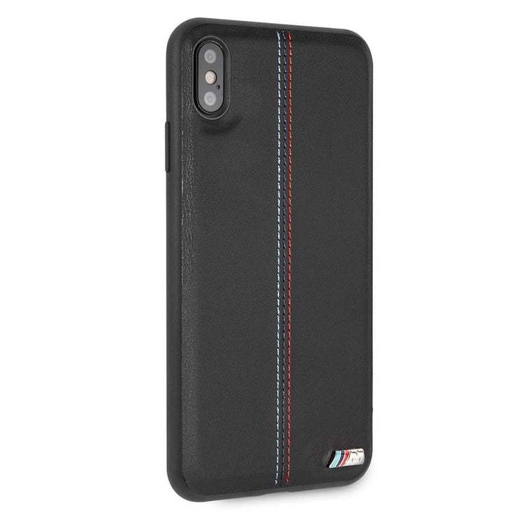 "BMW ""M"" Lines Red and Blue Stich PU Leather"