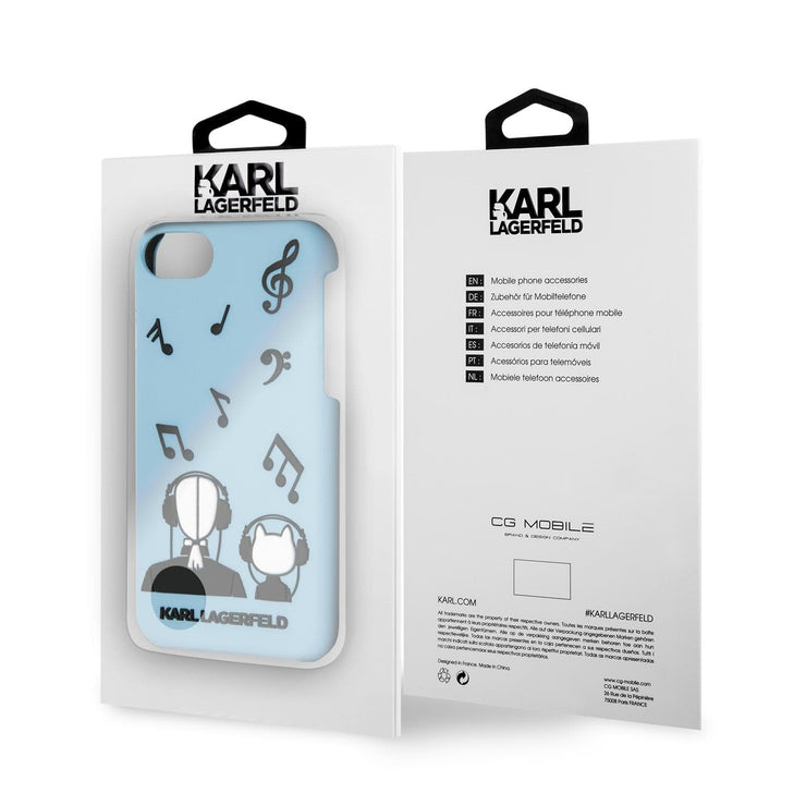 Karl Lagerfeld Music PU Leather