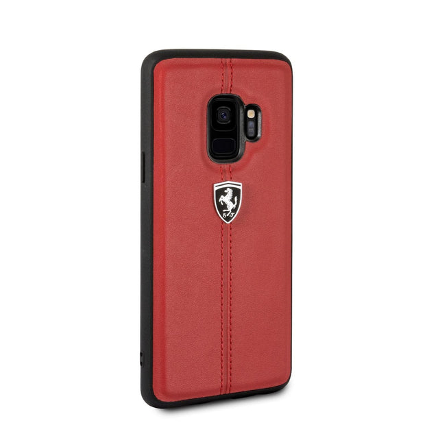 Ferrari Real Leather with Vertical Stripe - Samsung
