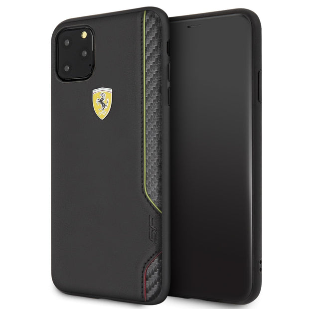 Ferrari On Track Scuderia Italia PU Leather with Carbon Fiber Inspired Design