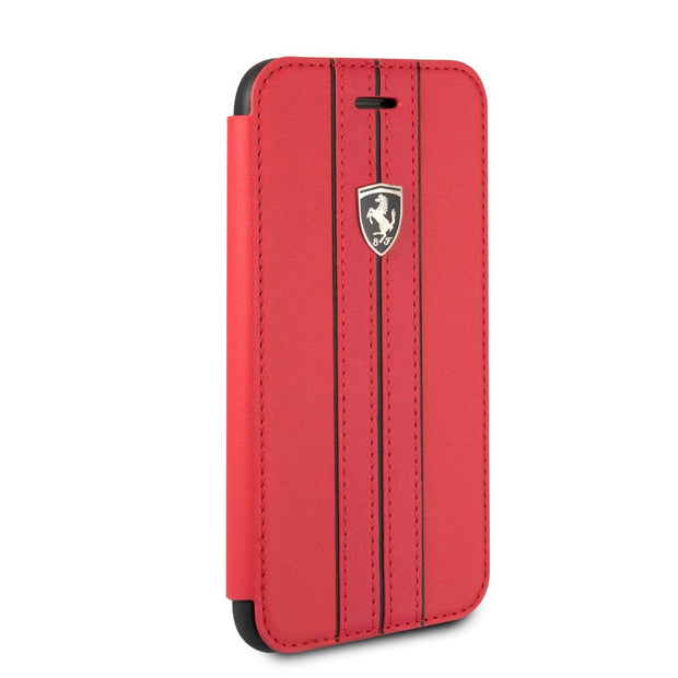 Ferrari P.U. Leather with Stripes Wallet