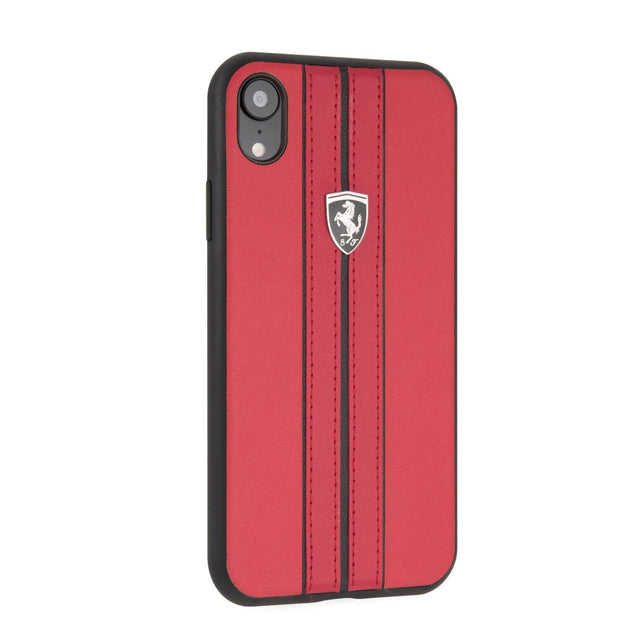 Ferrari P.U. Leather with Stripes
