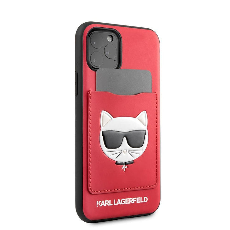 Karl Lagerfeld Choupette Card Slot PU Leather