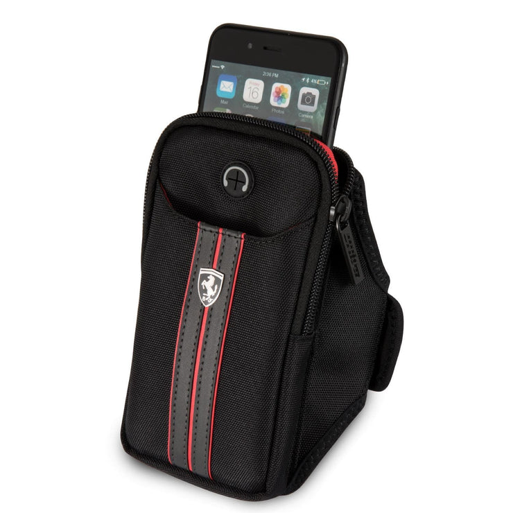 Ferrari Training Armband with Double Pockets