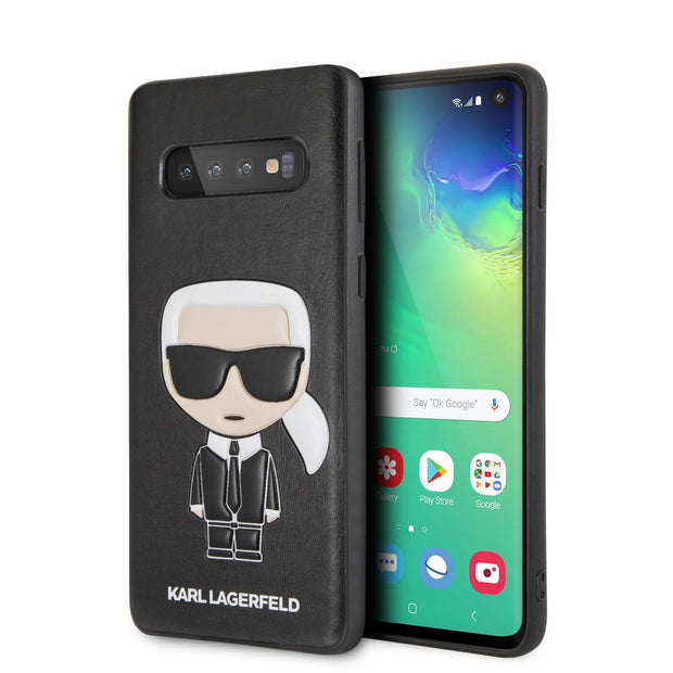 Karl Lagerfeld P.U. Leather Ikonik Karl Embossed - Samsung