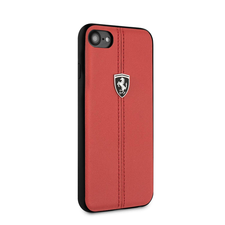 Ferrari Real Leather with Vertical Stripe