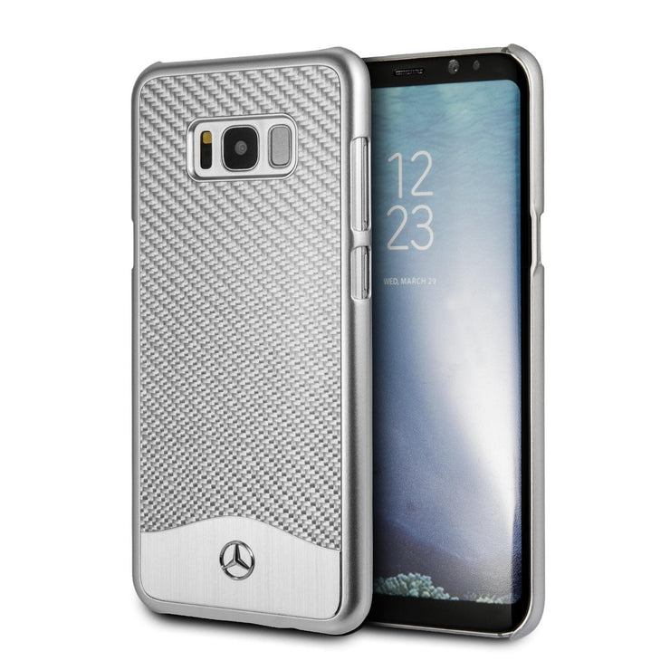 Mercedes-Benz Real Carbon Fiber with Aluminum Plate - Samsung