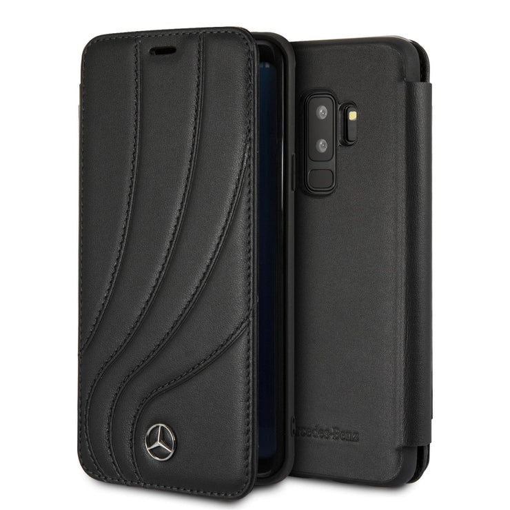 Mercedes-Benz Real Leather New Organic 2 Wallet - Samsung