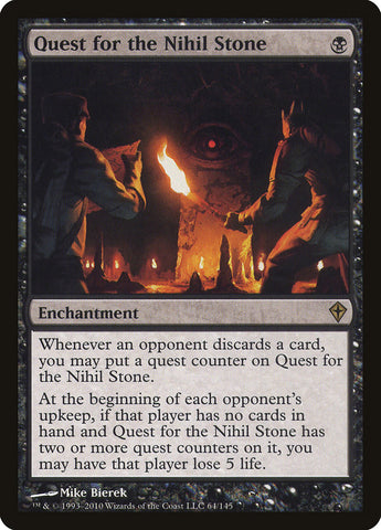 Quest for the Nihil Stone - MTG