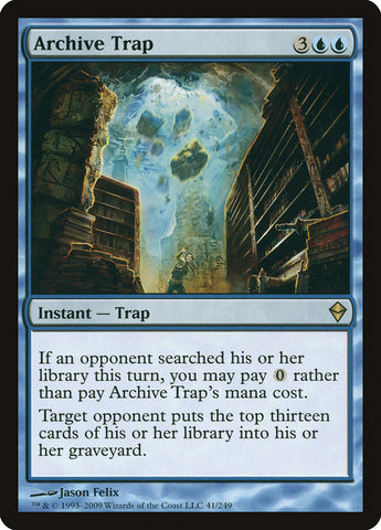 Archive Trap - MTG