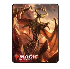 Nicol Bolas Throw Blanket - MTG