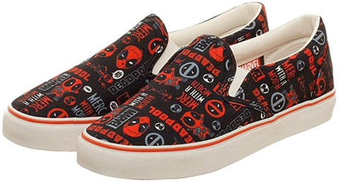 Deadpool Slip-on Shoes
