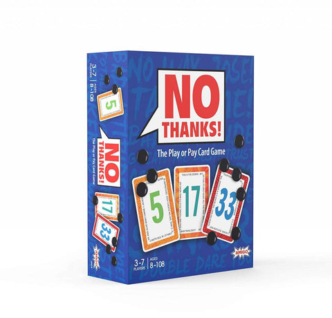 No Thanks! The Play or Pay Card Game