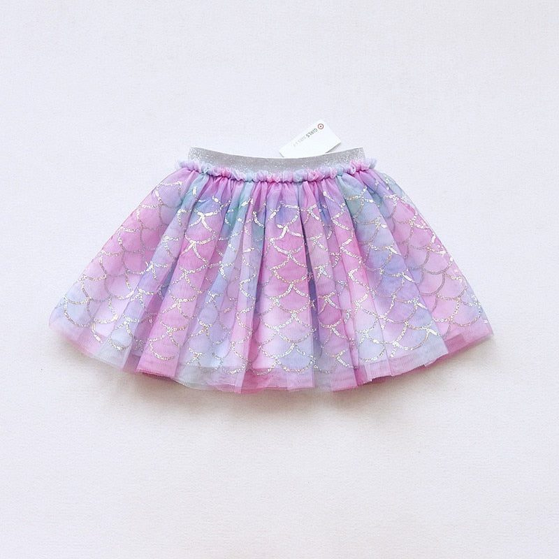 Mermaid Tutu Skirt