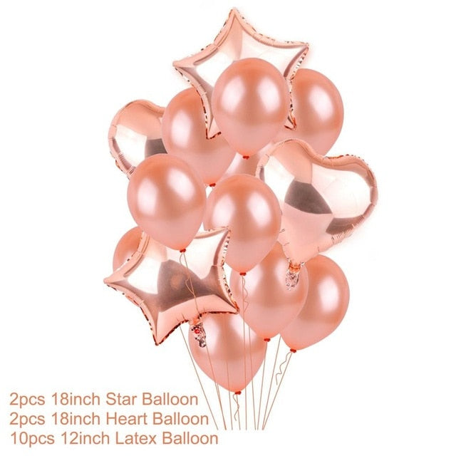 Rose Gold Birthday Party Decorations So Many Options To
