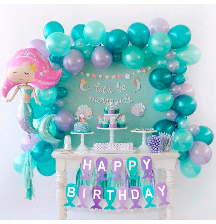 Mermaid Birthday Party Decor