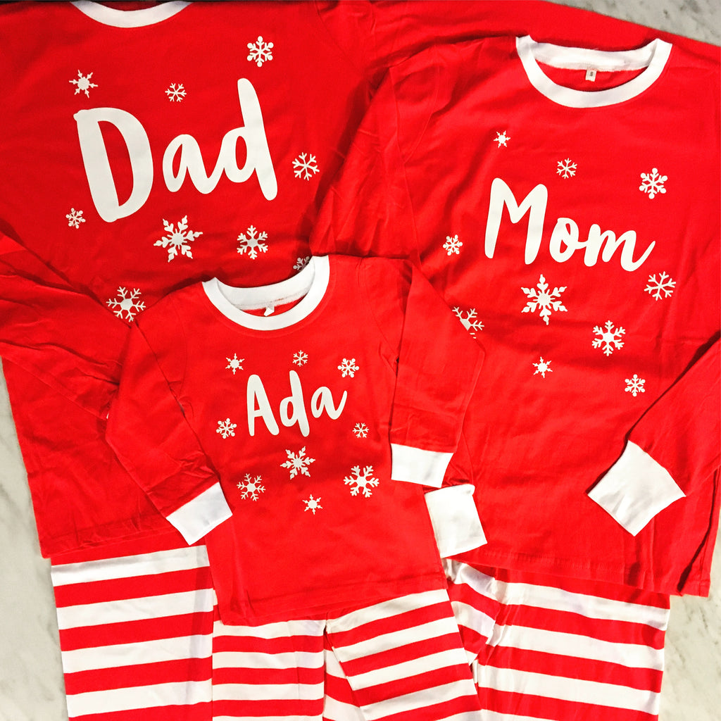 Matching Family Holiday Pyjamas - Adults