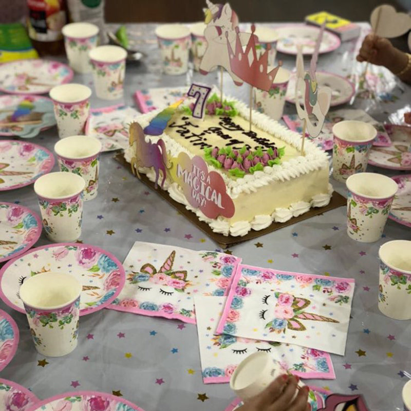 Unicorn Birthday Party Decorations - Everything you need to host your magical bash