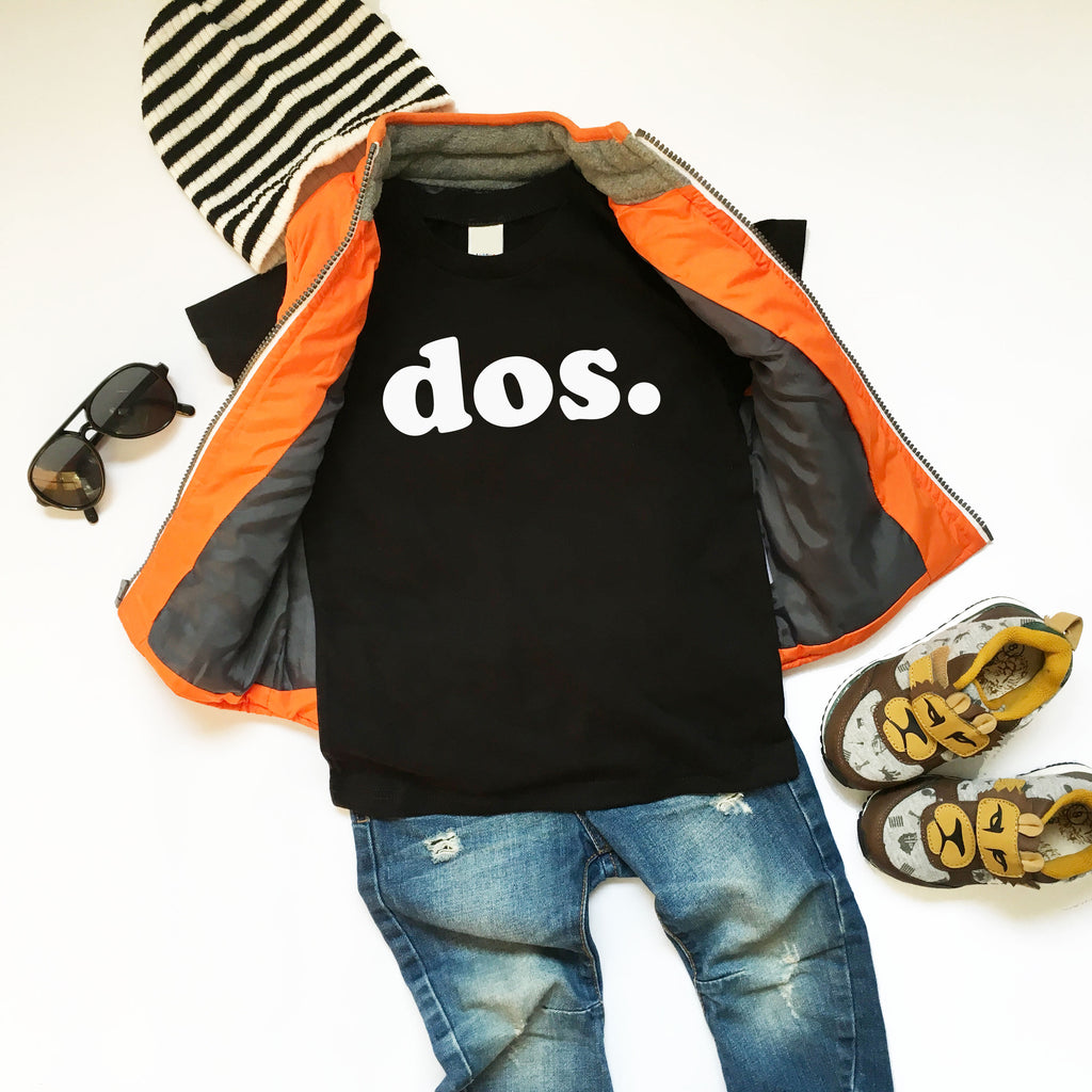 dos. Second Birthday T-shirt