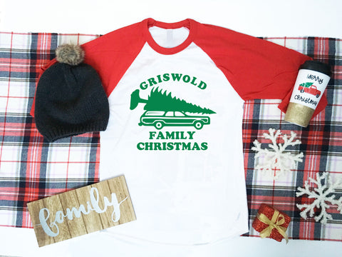 Matching Family Christmas Shirts, Family Christmas Card Shirts, Griswold Family Vacation, National Lampoon's Christmas Vacation Shirts
