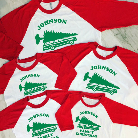 Matching Family Christmas Shirts, Griswold Family Vacation, National Lampoon's Christmas