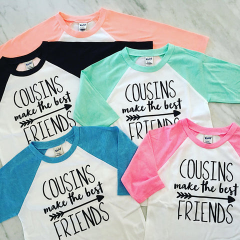 Cousins Make The Best Friends, Best Friends Shirts, Cousins Shirts, Big Cousin Shirt, Family Reunion Shirt