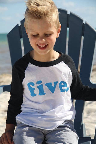 fifth birthday shirt