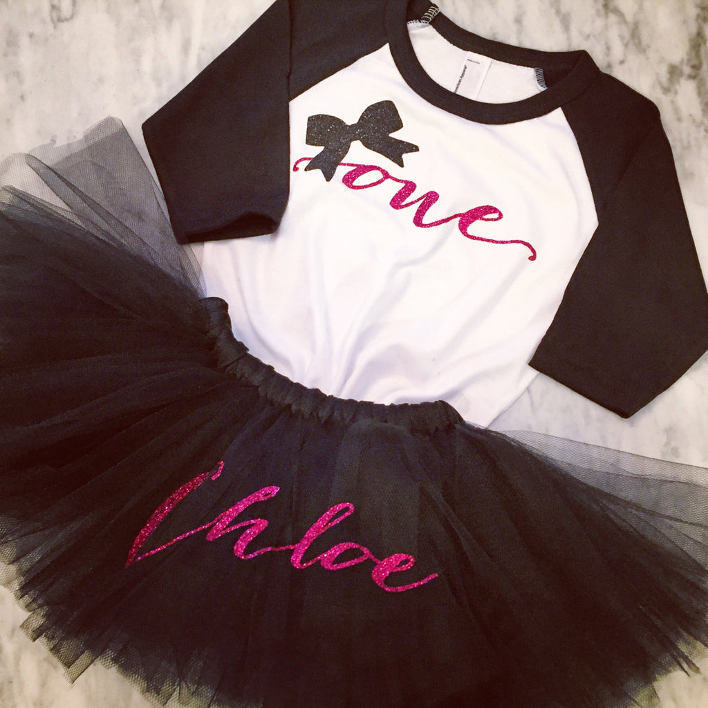 First Birthday Outfit, Personalized Tutu, Baby Girl 1st Birthday, Cake Smash Outfit
