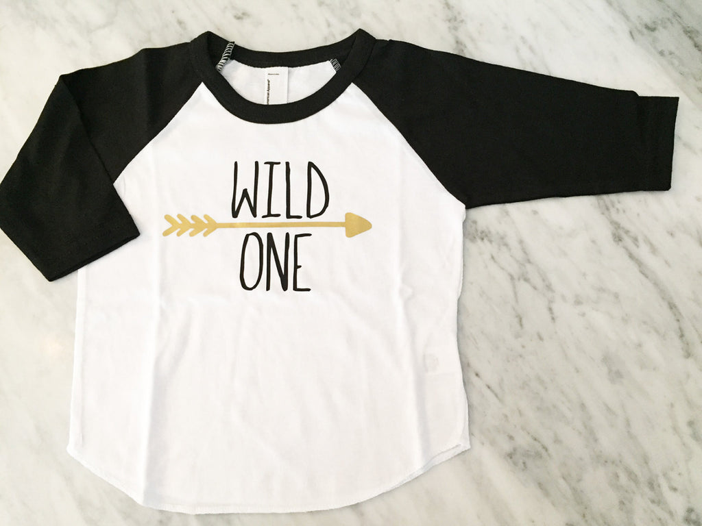 First Birthday Shirt, Wild One Birthday Shirt, Matching Family Birthday Shirts