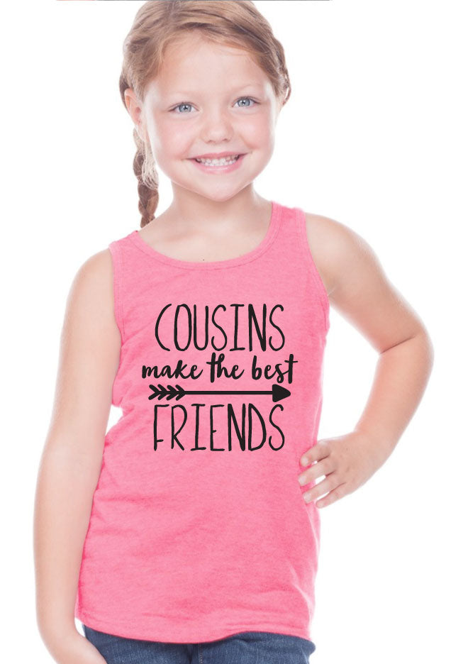 Cousins Make The Best Friends T-shirt - Fall Colors