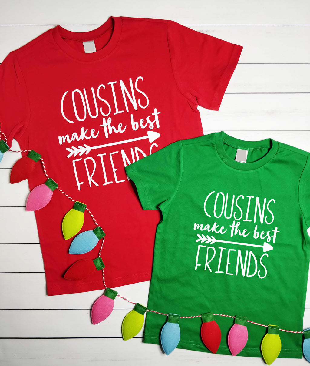Cousins Make The Best Friends, Cousin Shirts, Big Cousin Shirt, Family Reunion - Holiday