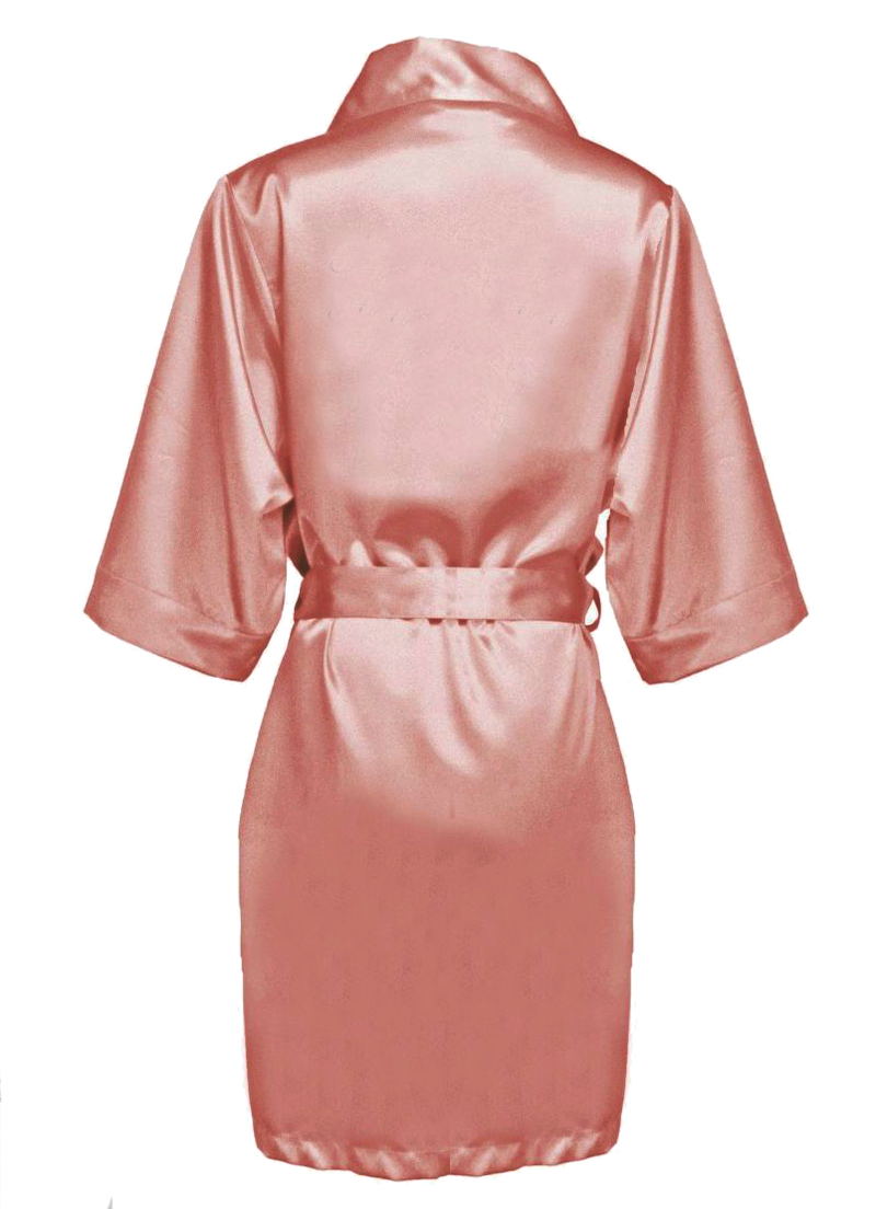 Bridesmaid Robes, Maid of Honor Robe, Dusty Rose, Rose Gold, Mauve