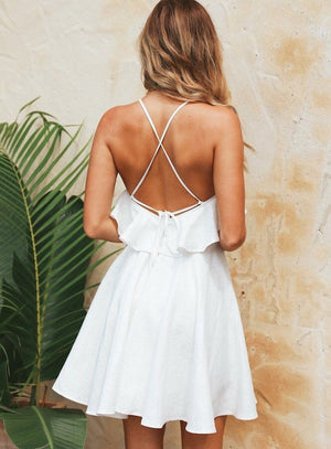 Vintage Backless Dress