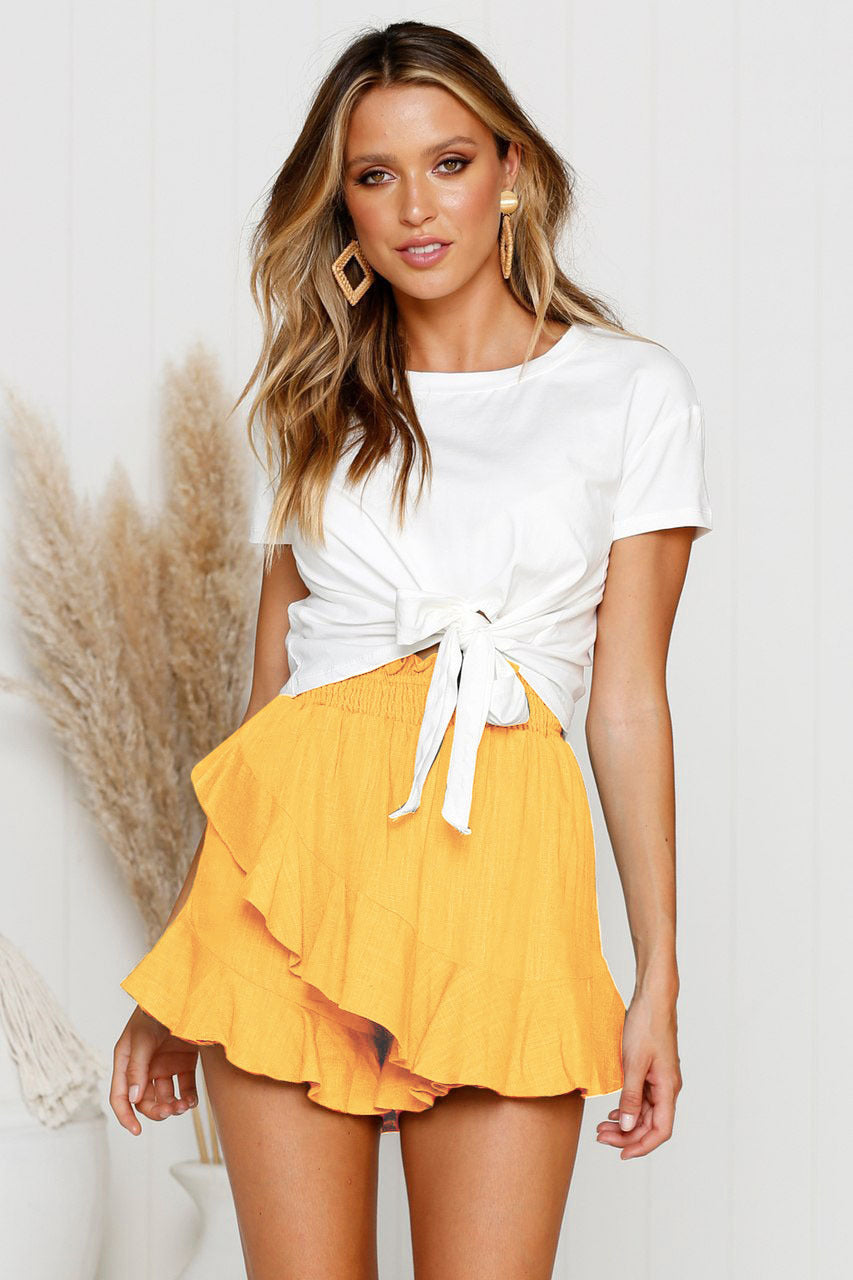 Ruffled Summer Shorts