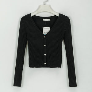 Long Sleeve Button Up T-Shirt