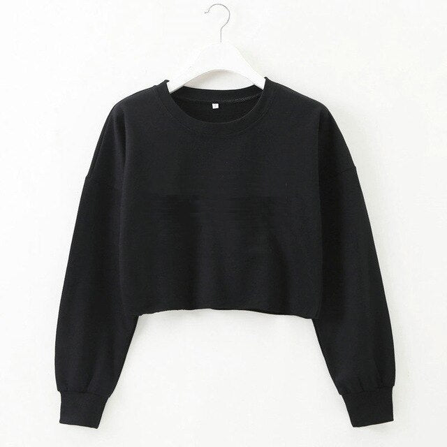 Casual Long Sleeve Sweatshirt