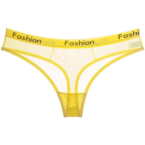 Mesh Fashion Thongs