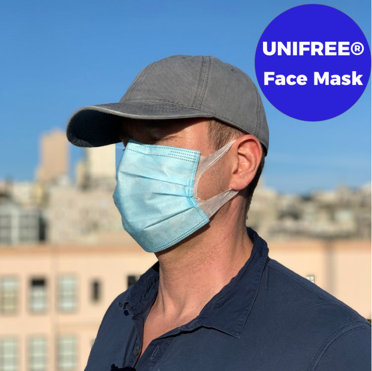Unifree® Face Mask, 50 Count - Trusted Quality Brand - GETXGO