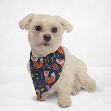 Load image into Gallery viewer, Fabulousy Foxy Cat & Dog Bandana