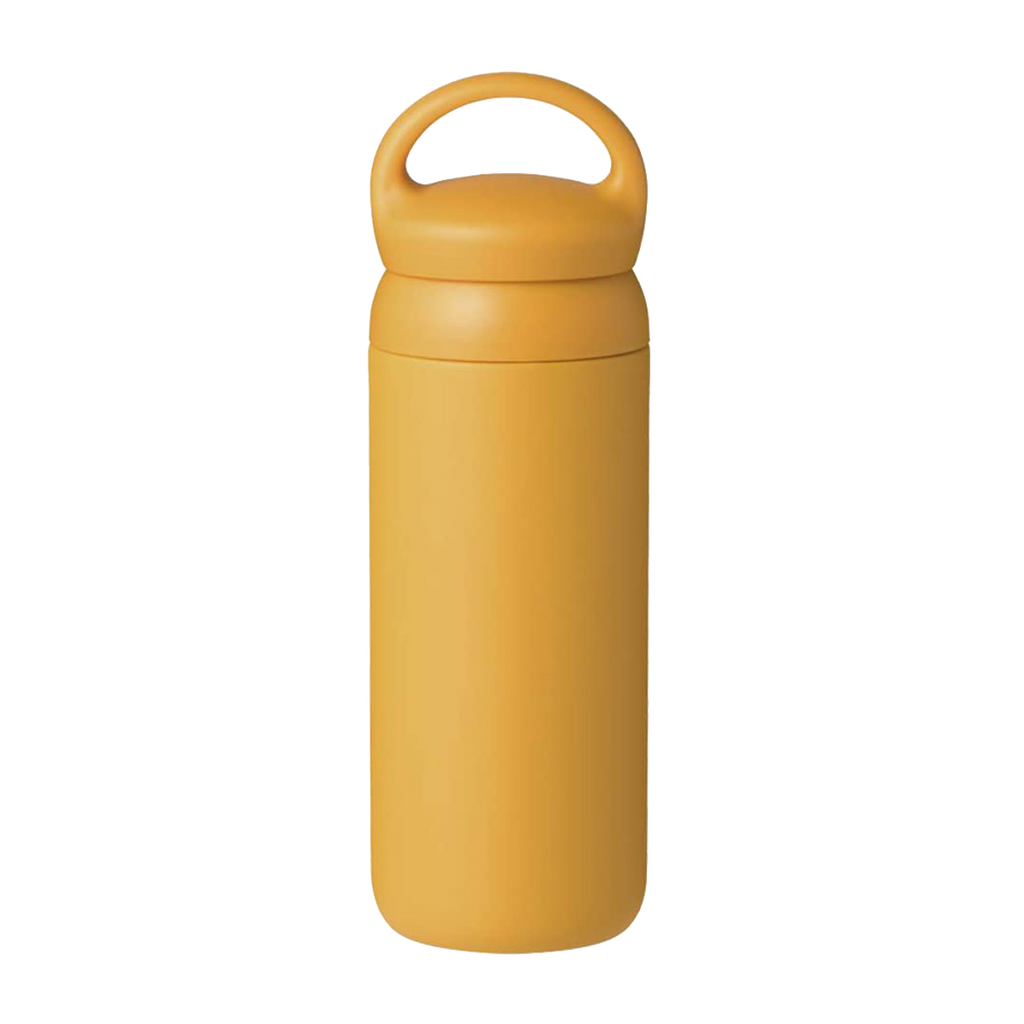Kinto Day-Off Bottle 500 ml | Mustard