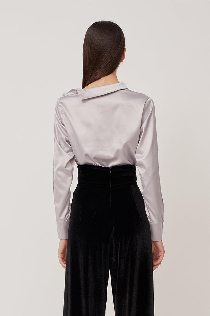 Camillia Buttoned Sleeve Blouse