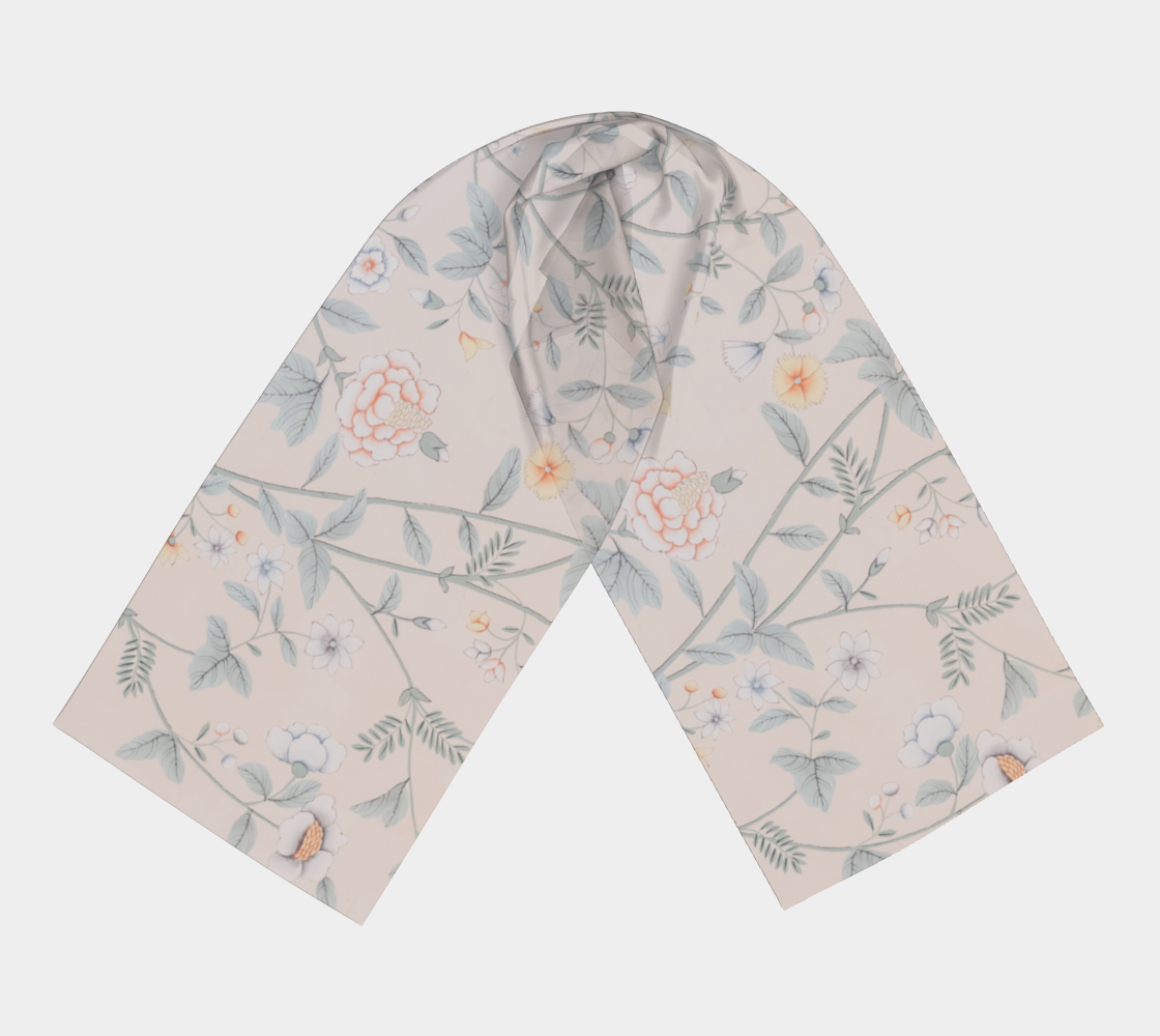 Floral Wallpaper Scarf
