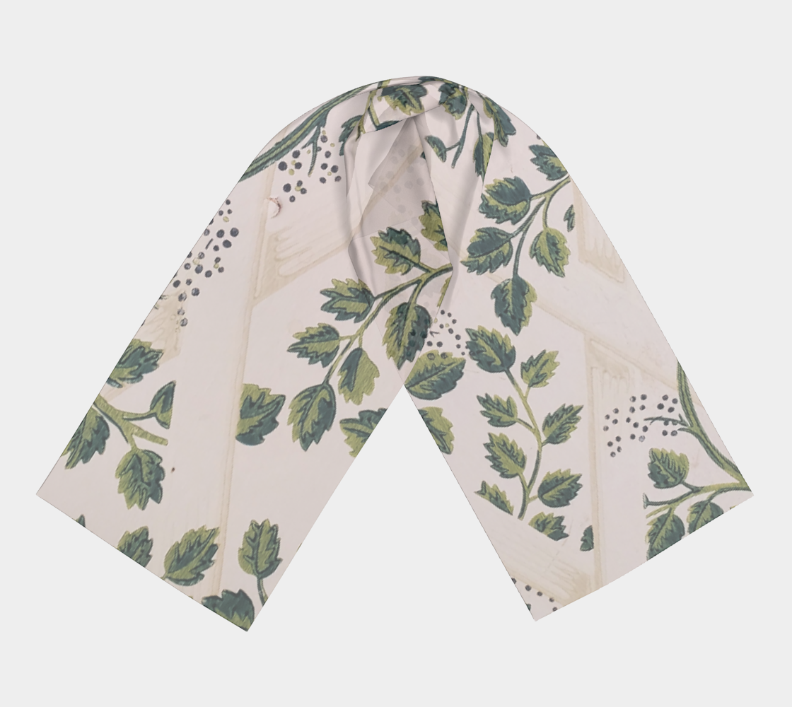 Trellis & Vines Wallpaper Scarf