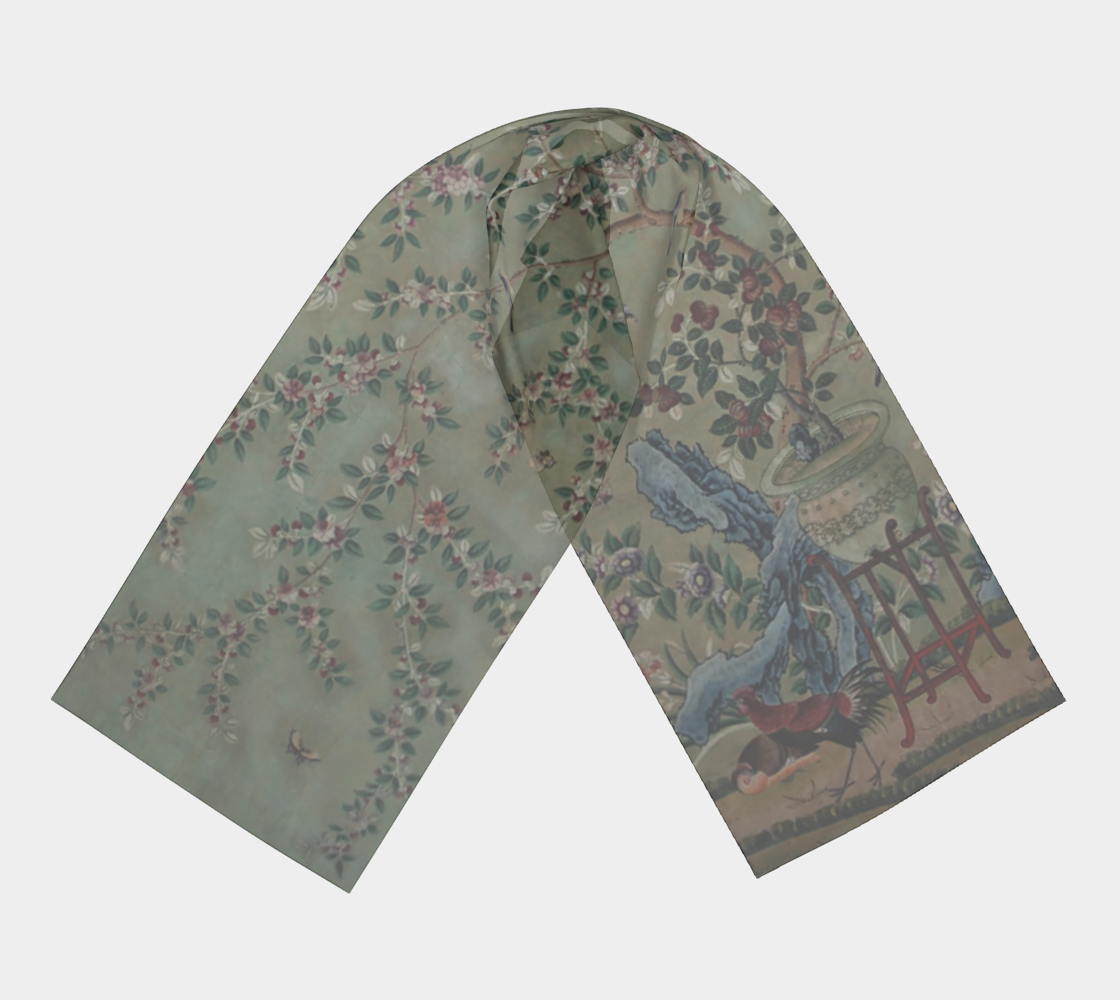 Chinese Wallpaper Scarf