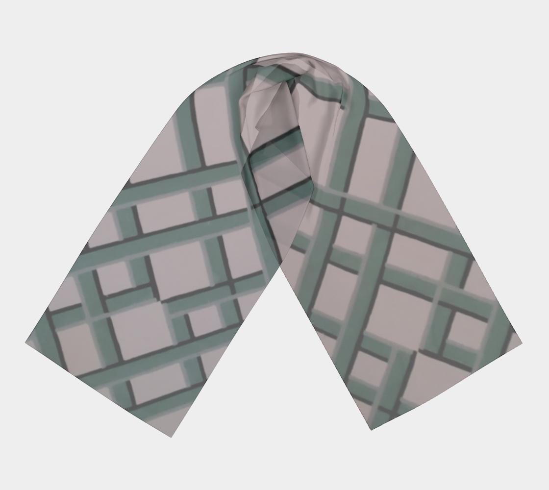 Lattice Wallpaper Scarf