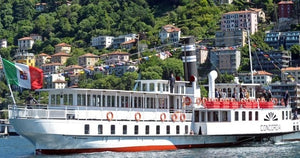 WHAT TO DO ON LAKE COMO | STEAM BOAT CRUISE