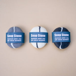 Set of 3 Handmade Soap Stones