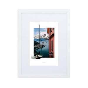Framed Poster of Lake Como