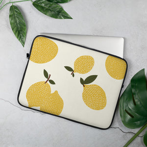 Lemon Laptop Sleeve - In Love with Italy